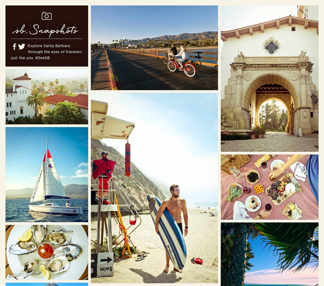 Picture yourself in a boat on a river... or on a boat in Santa Barbara