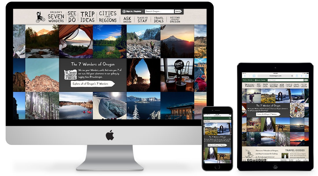 TravelOregon.com – fully responsive